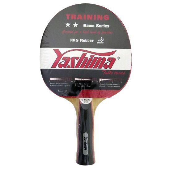 Raquete Tênis de Mesa Yashima Training XX3 Rubber 82028