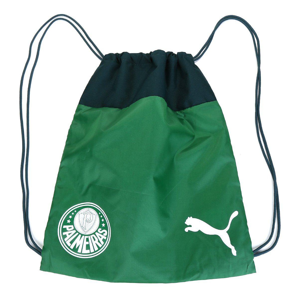 Sacola Mochila Palmeiras Puma Gym Sack