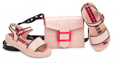 0dcc5e98ae Sandália Infantil Larissa Manoela Fashion Com Bag De Brinde - BRACIA ...