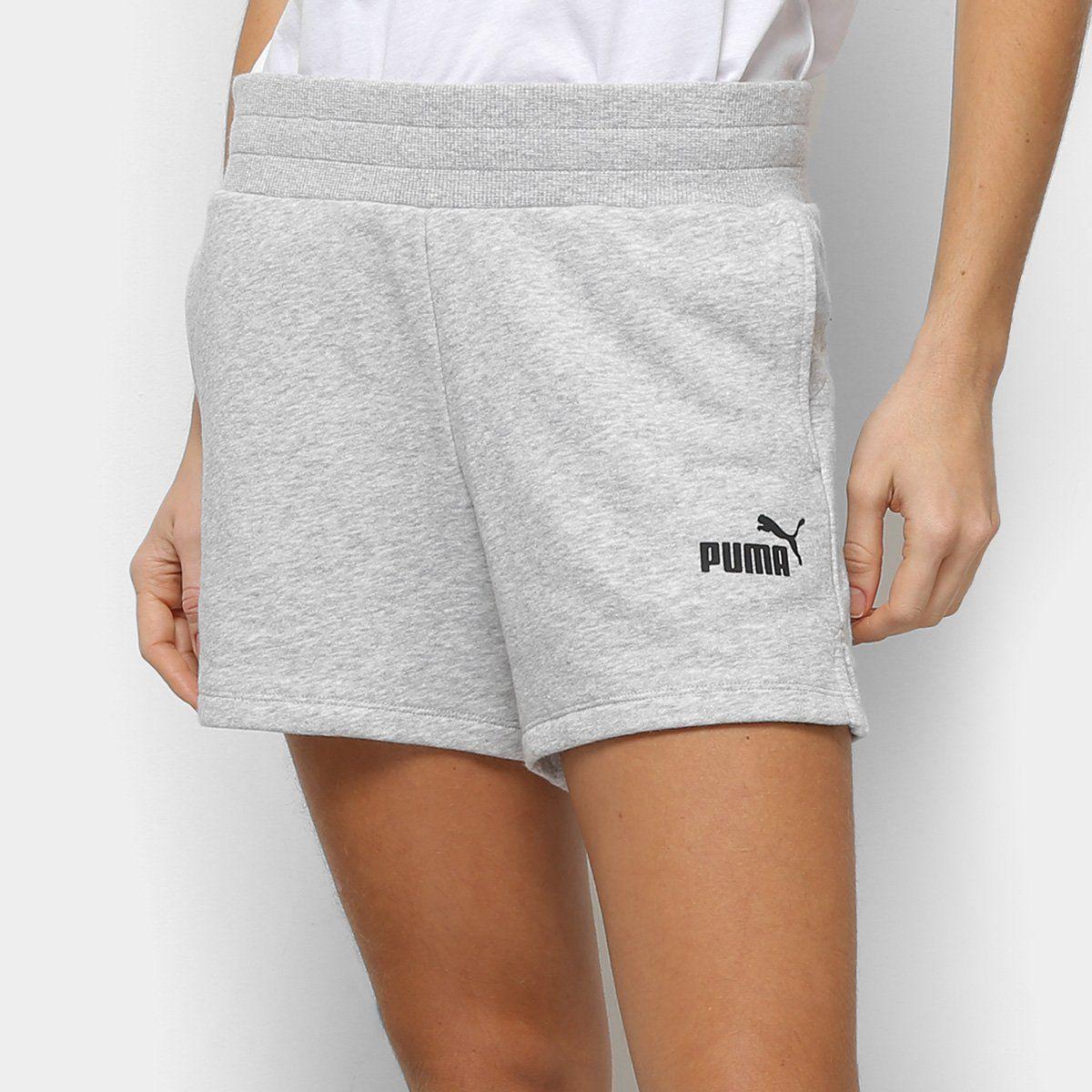 Short Moletom Puma Ess Sweat Tr Feminino