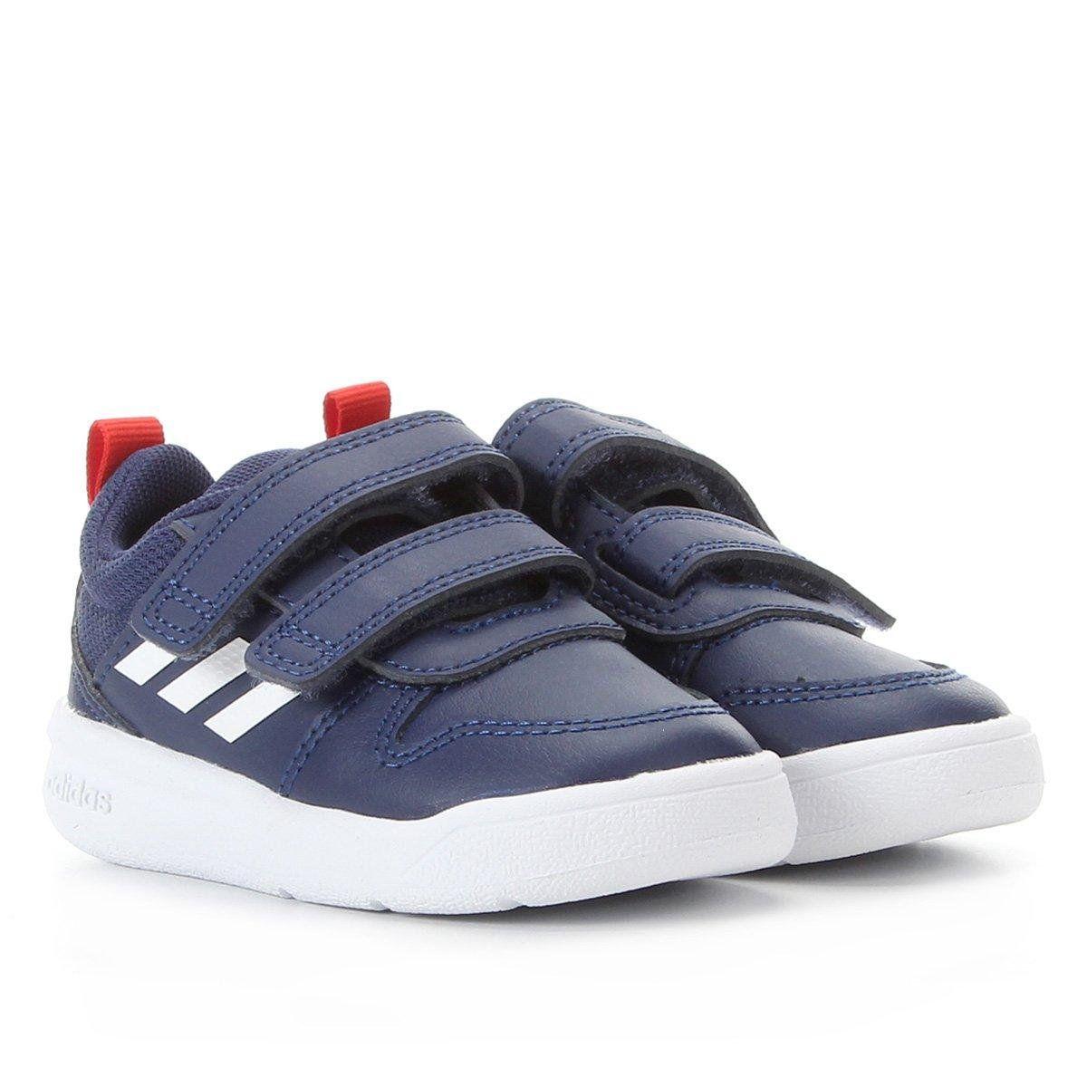 Tênis Adidas Couro Infantil Vector - Masculino