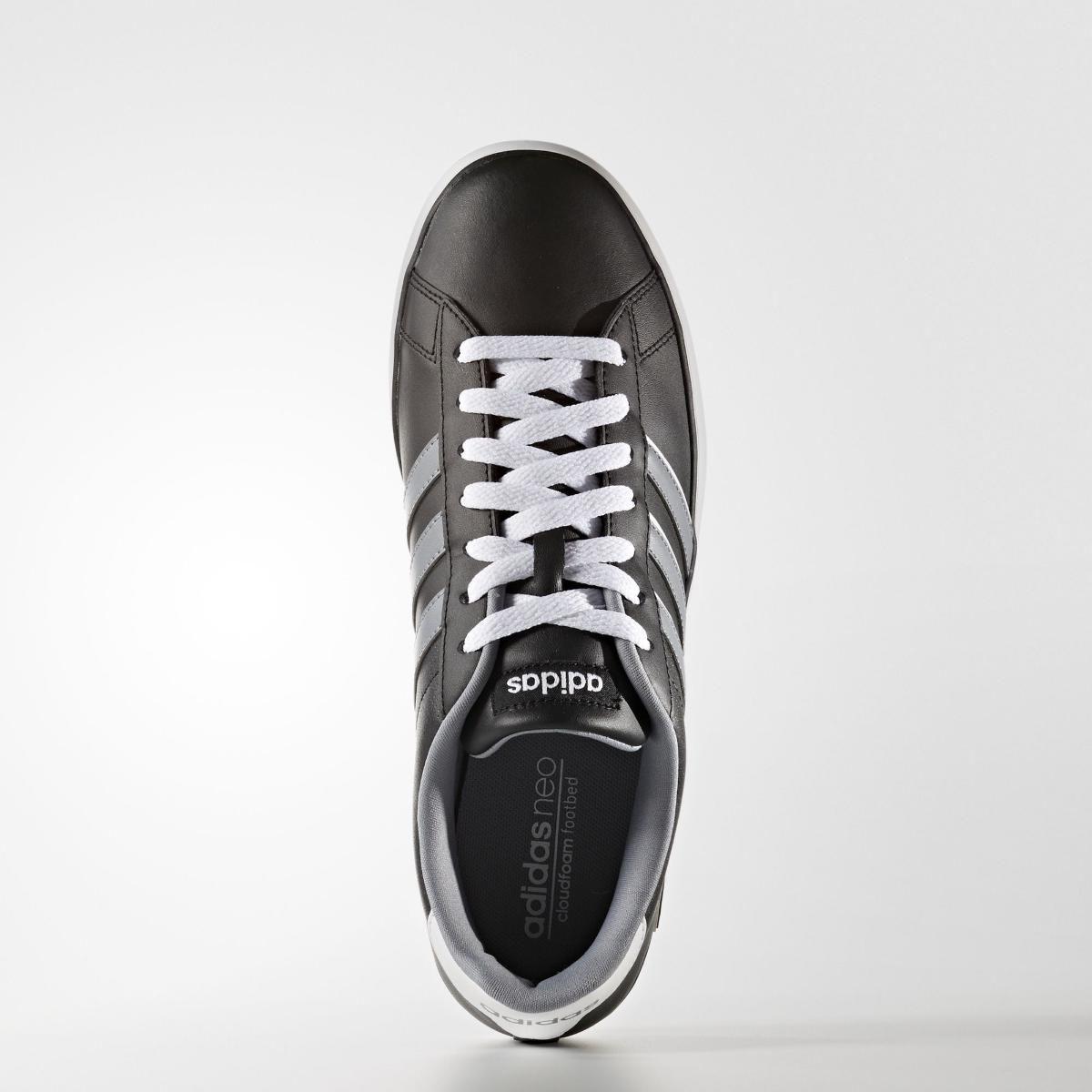 7412dbcced Tênis Adidas Derby Vulc Em Couro Listras Casual - BRACIA SHOP  Loja ...