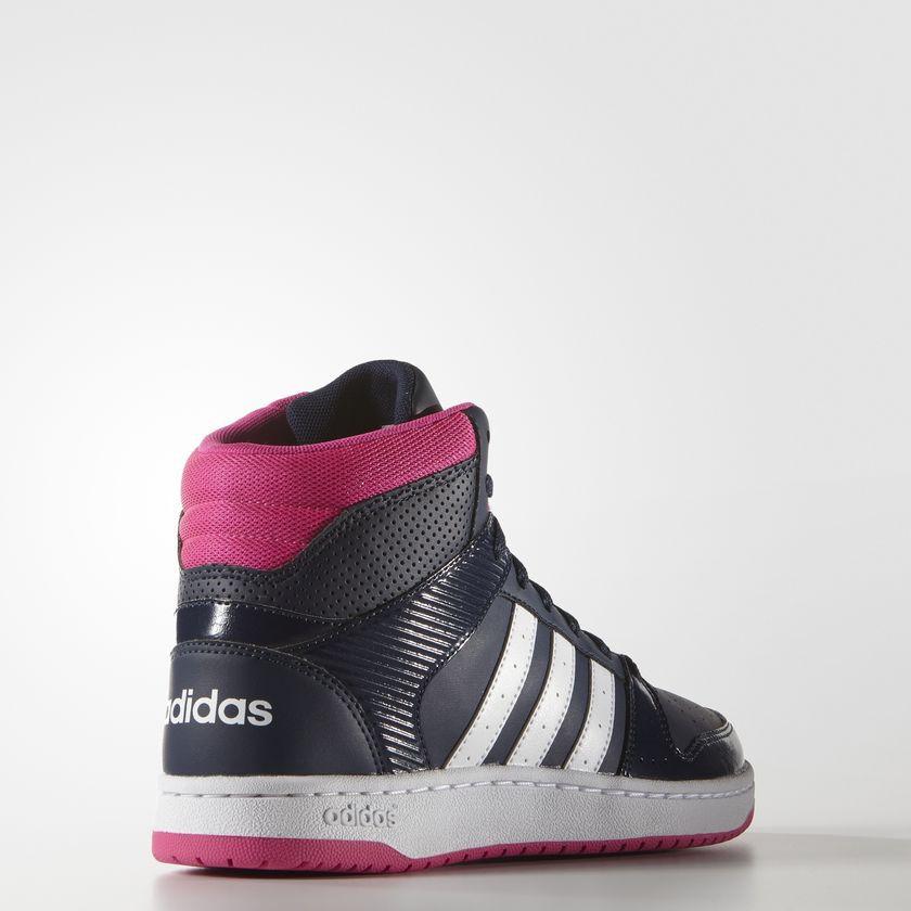 Tênis Feminino Cano Alto Adidas Hoopster Mid - BRACIA SHOP  Loja de ... c7c7775c1ff54