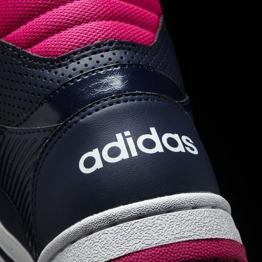 51750c05cd8f75  Tênis Feminino Cano Alto Adidas Hoopster Mid - BRACIA SHOP  Loja de . a09cfcfe3be93