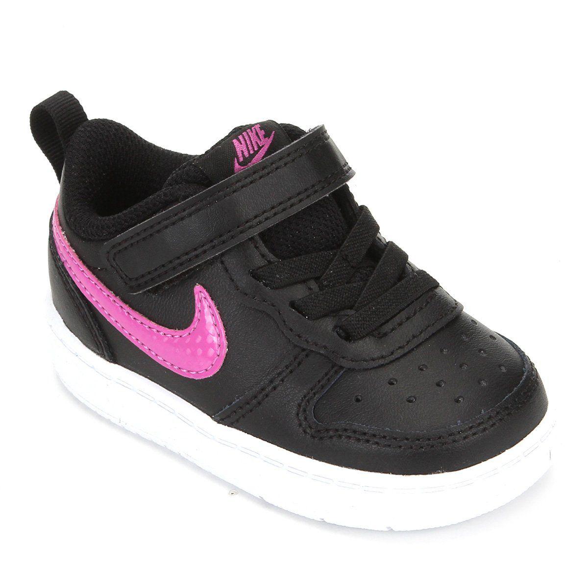 Tênis Infantil Nike Court Borough Low 2 - Feminino