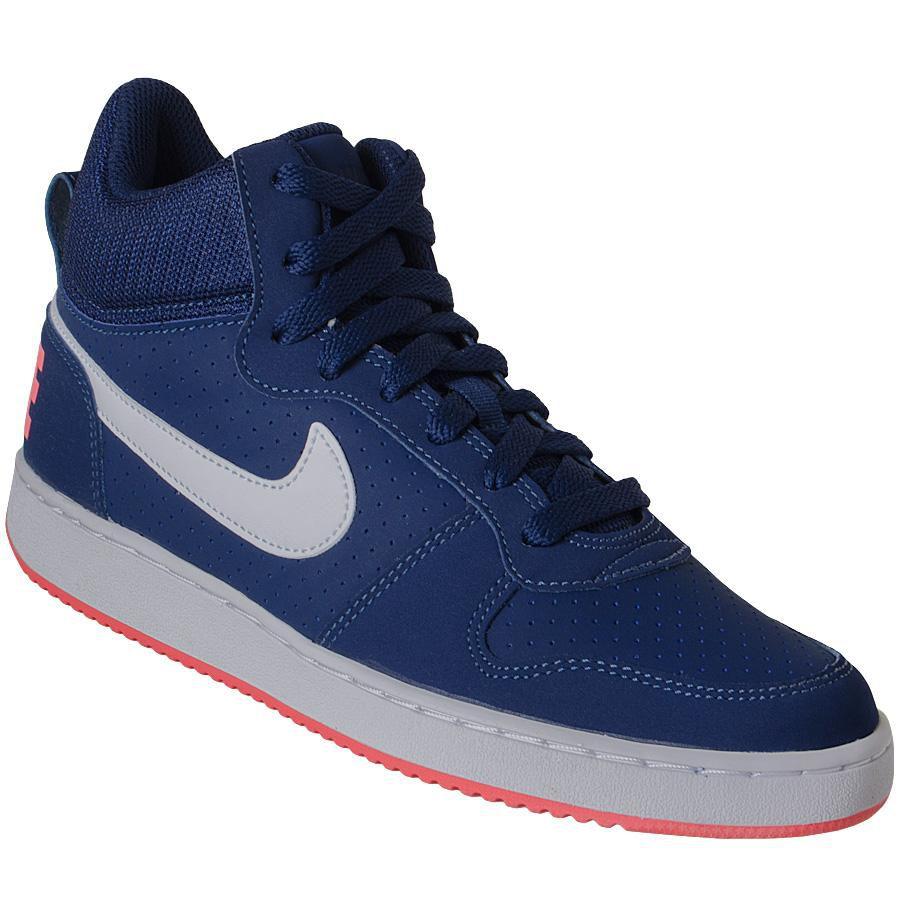 df47b1a27c038 Tênis Masculino Cano Alto Nike Court Borough Mid - BRACIA SHOP: Loja ...