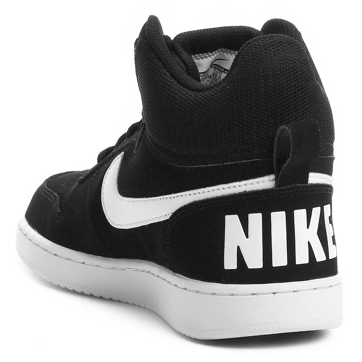 70e59e7004c61 Tênis Masculino Cano Alto Nike Court Borough Mid - BRACIA SHOP  Loja ...