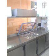 Mesa Buffet Self-Service Refrigerado e Térmica