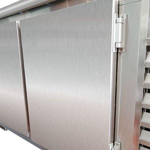 Balcão de Serviço Refrigerado em Aço Inox 1,80 metros