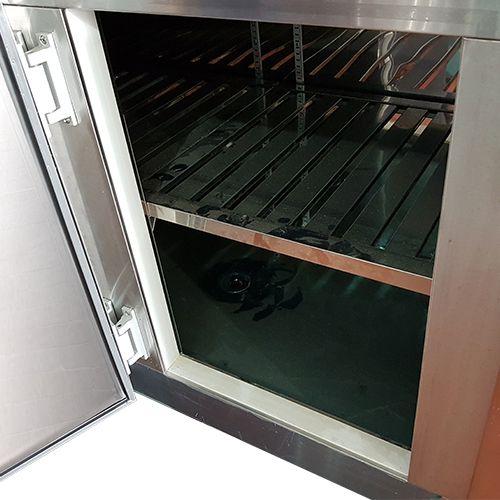 Balcão de Serviço Refrigerado em Aço Inox 2,80 metros