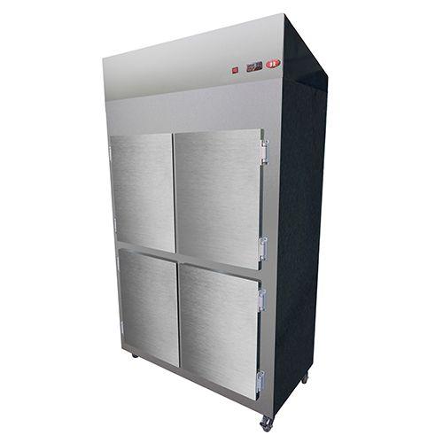 Geladeira Refrigerador Comercial 4 Portas 220V BR