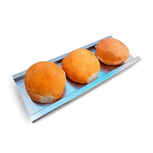 Régua De Corte Para Pães Hambúrguer Aço Inox