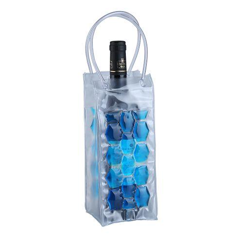 Bolsa cooler para Garrafa de vinho em PVC