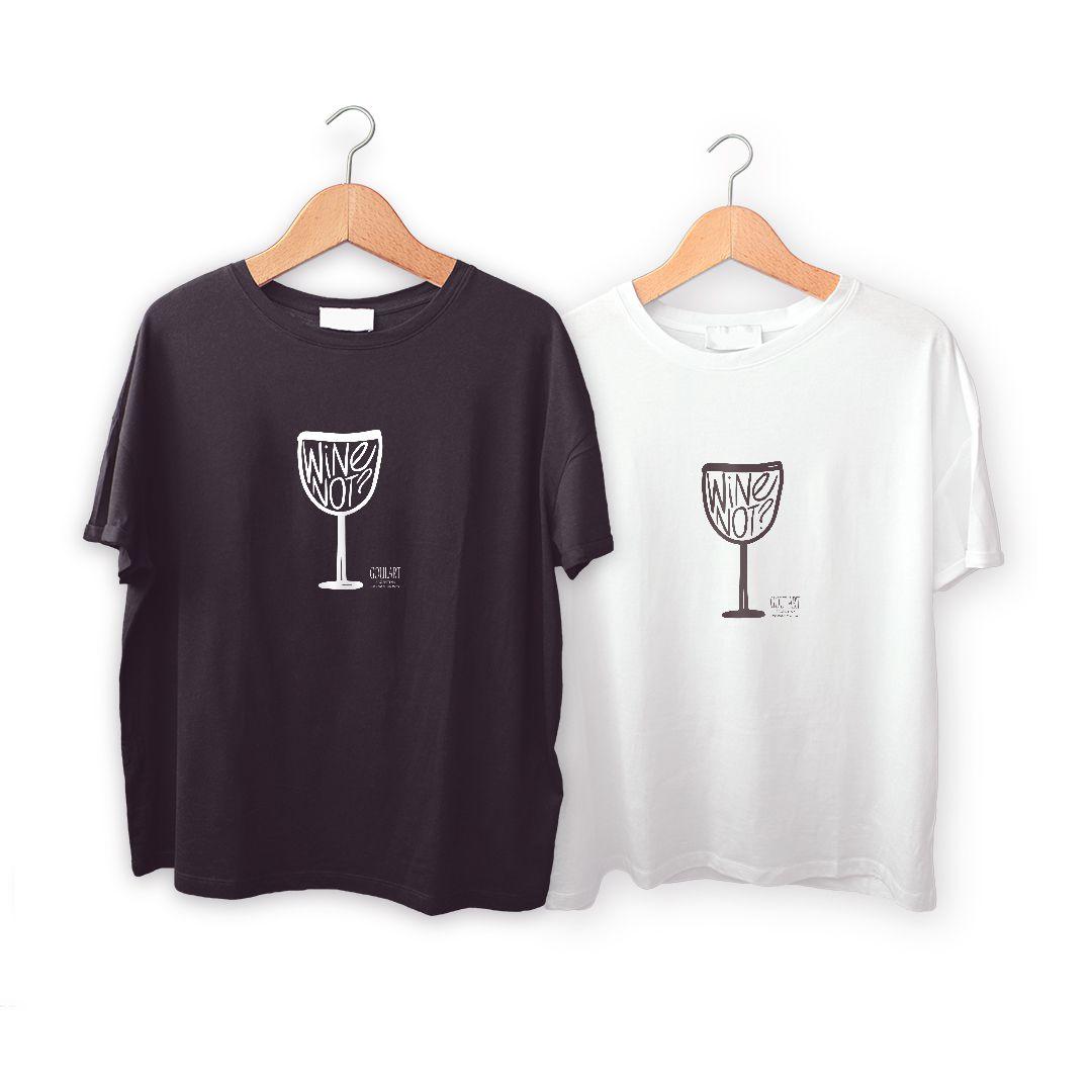 Camiseta  WINE NOT?