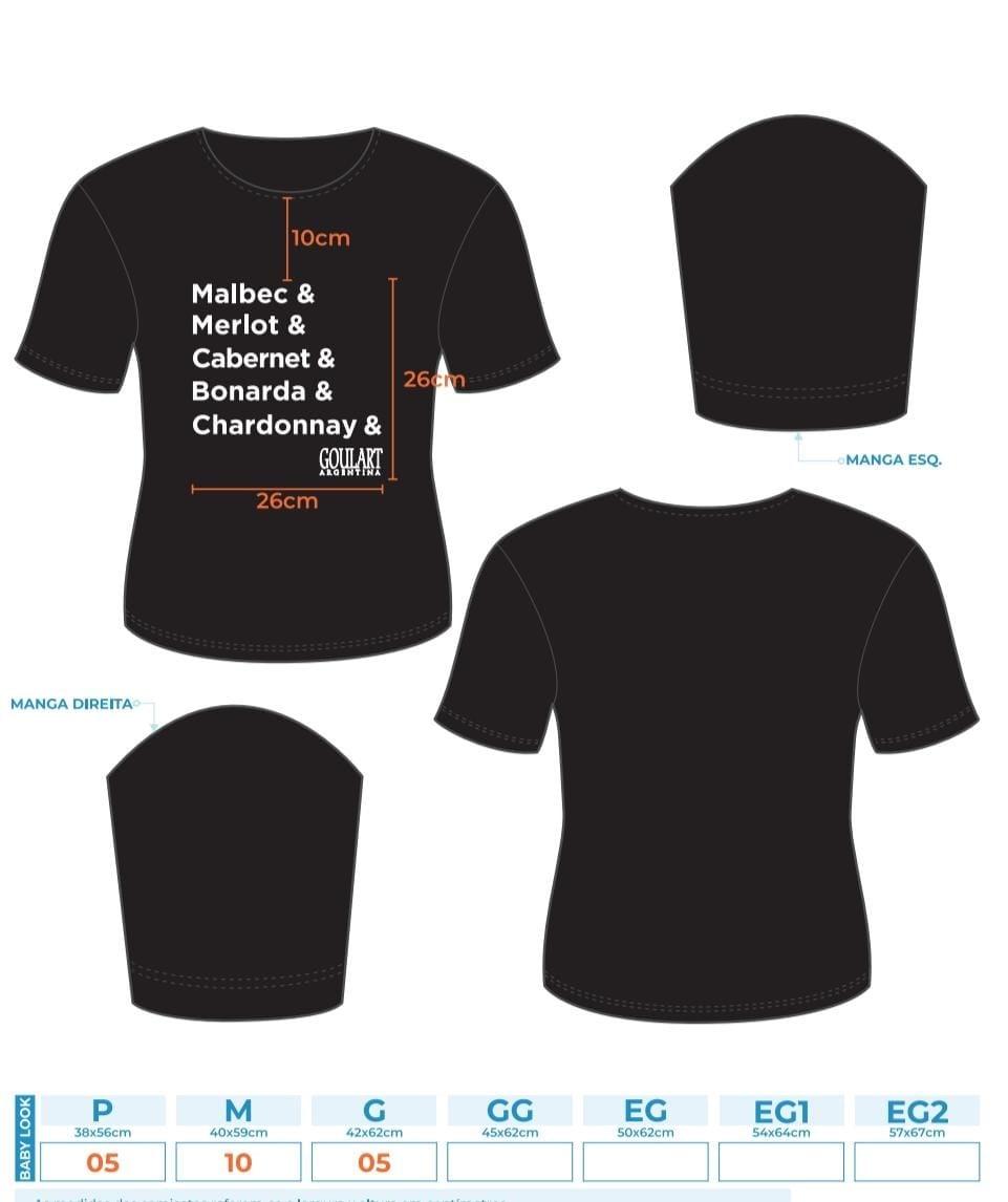Camiseta Goulart Varietais