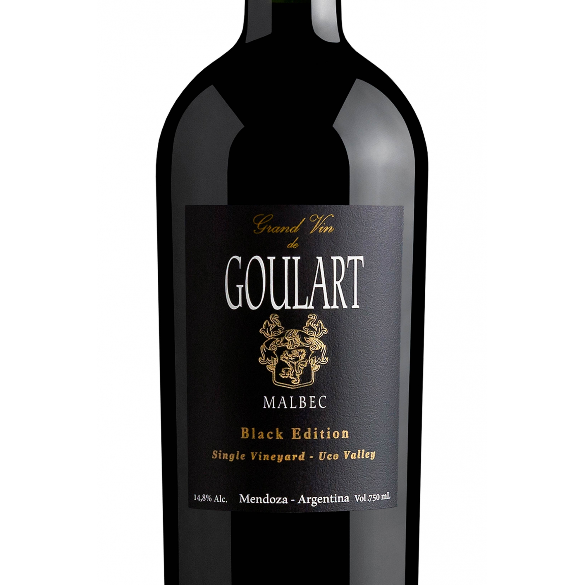 Goulart Grand Vin - Malbec Black Edition Single Vineyard 2015 - 750ML
