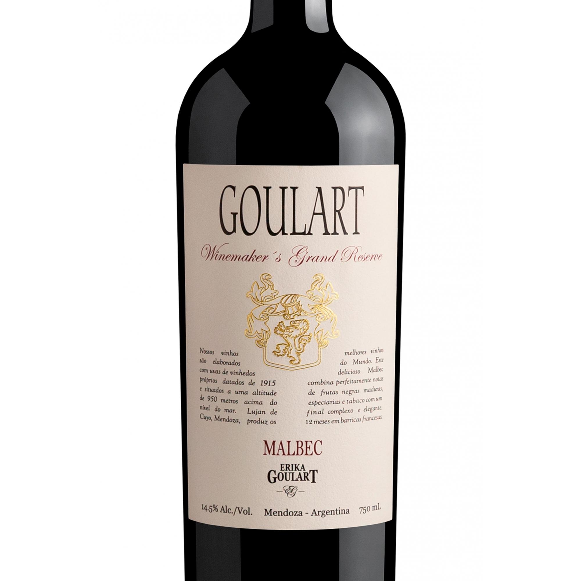 Goulart Winemaker´s Grand Reserve Malbec 2017 - 750ml