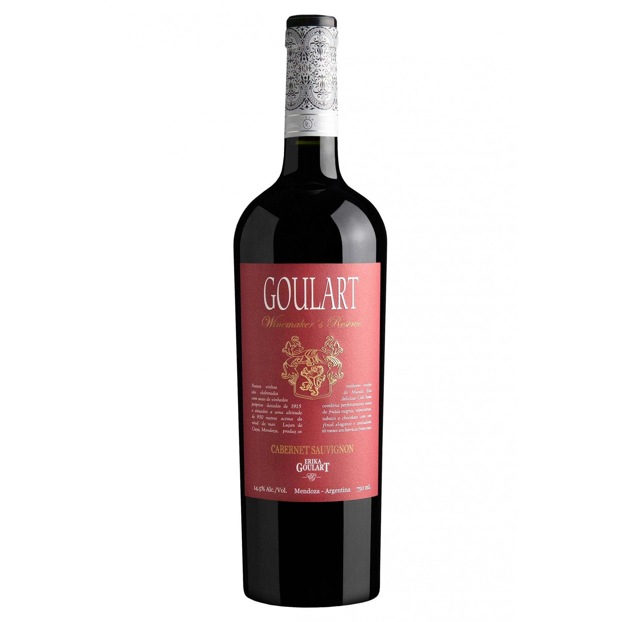 Goulart Winemaker´s Reserve Cabernet Sauvignon 2019 - 750ml
