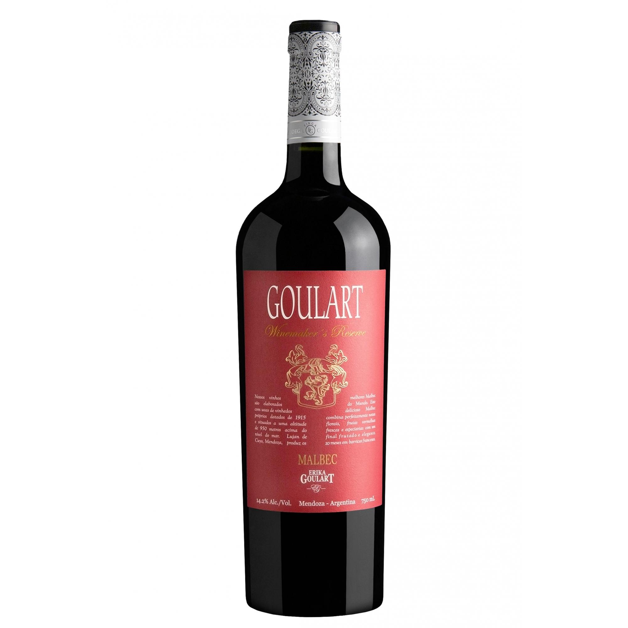 Goulart Winemaker´s Reserve Malbec 2019 - 750ml