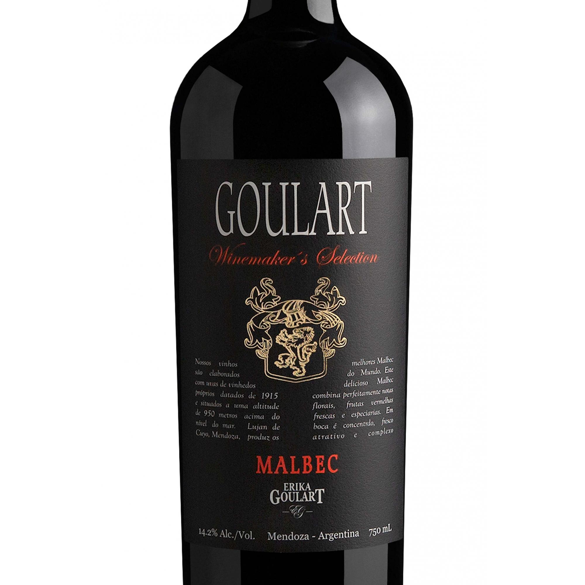 Goulart Winemaker´s Selection Malbec 2019 - 750ml