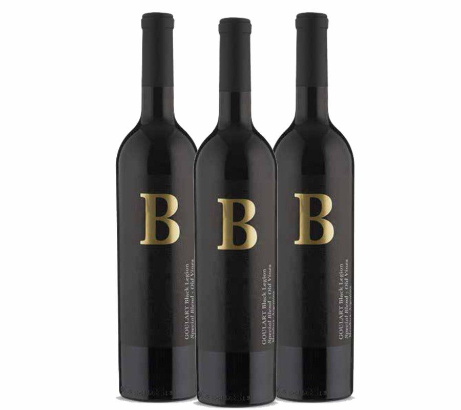 Kit 3 Garrafas - B Black Legion Special Blend 2015 - 4.0 Vivino