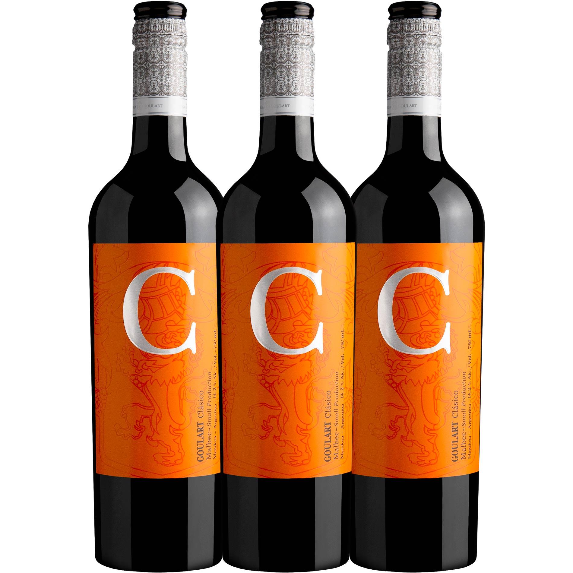 Kit 3 garrafas - C Clásico 2020