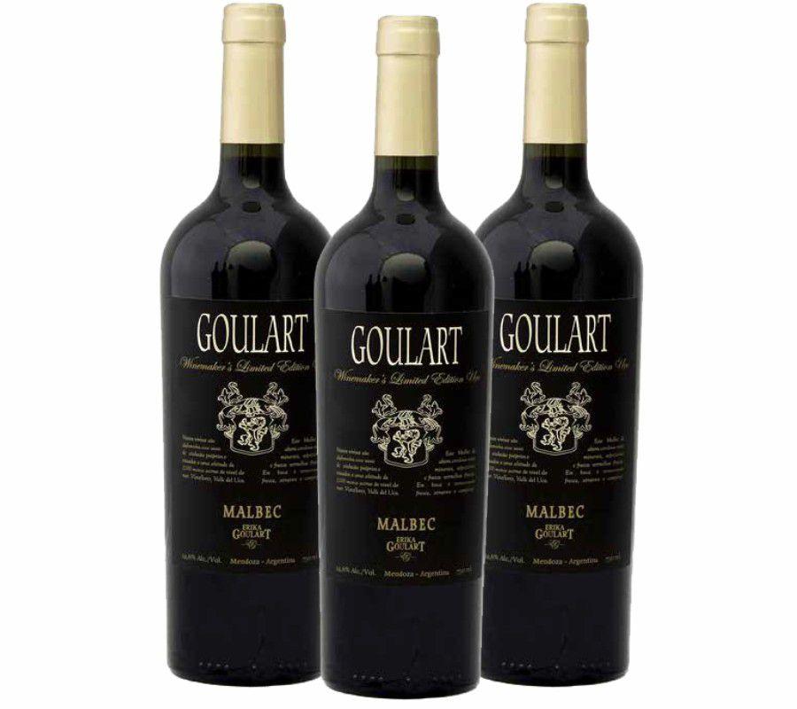 Kit 3 Garrafas - Goulart Winemaker's Limited Edition Uco - 4.0 VIVINO
