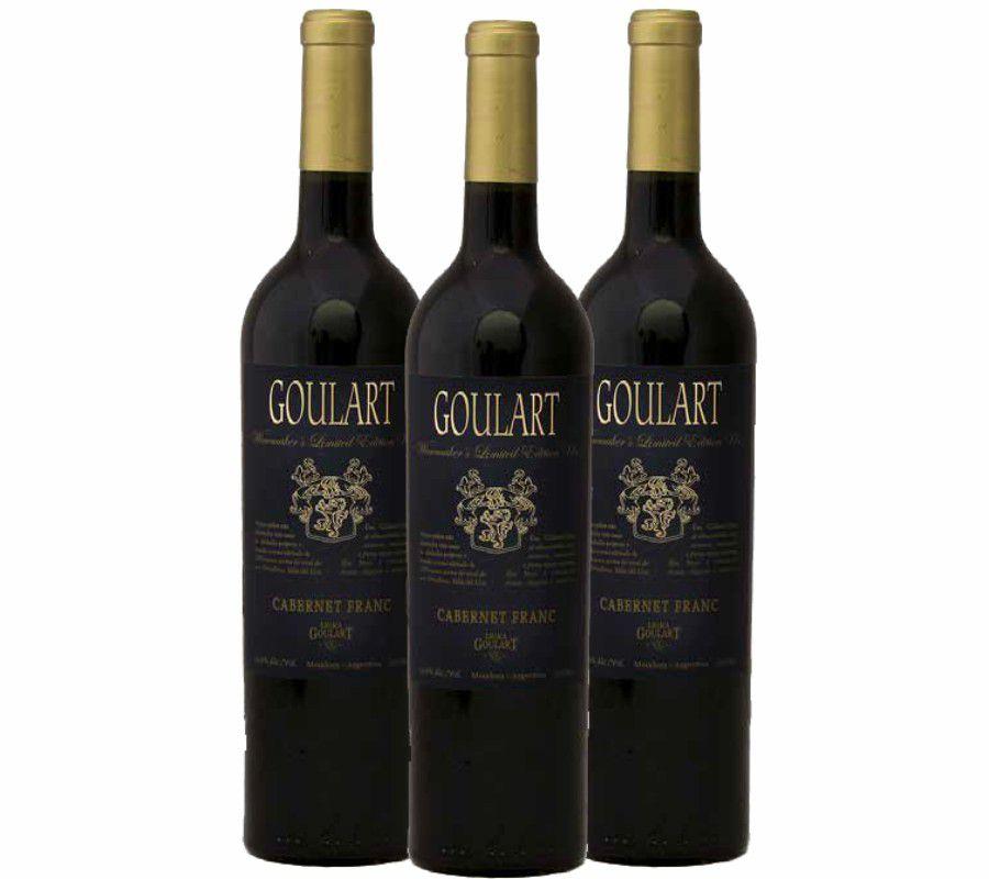Kit 3 Garrafas - Goulart Winemaker's Limited Edition Uco - 4.1 Vivino
