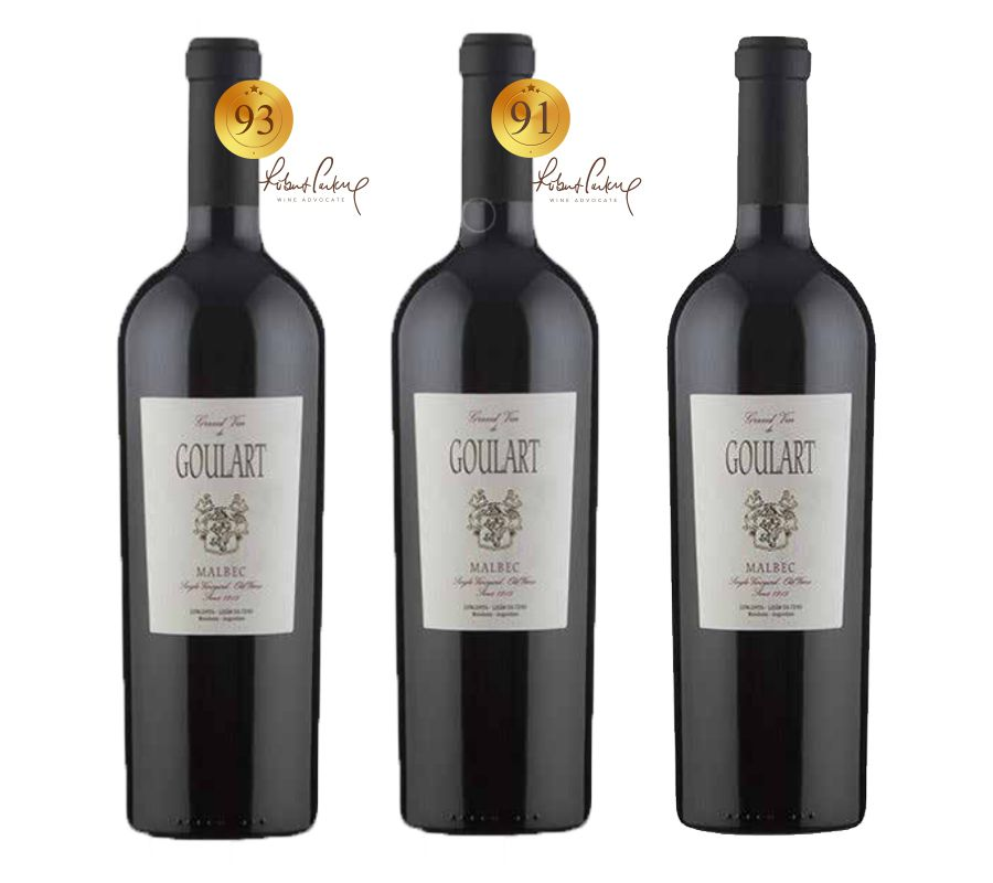 Kit 3 Vertical Gran Vin Malbec 2008*2009*2010