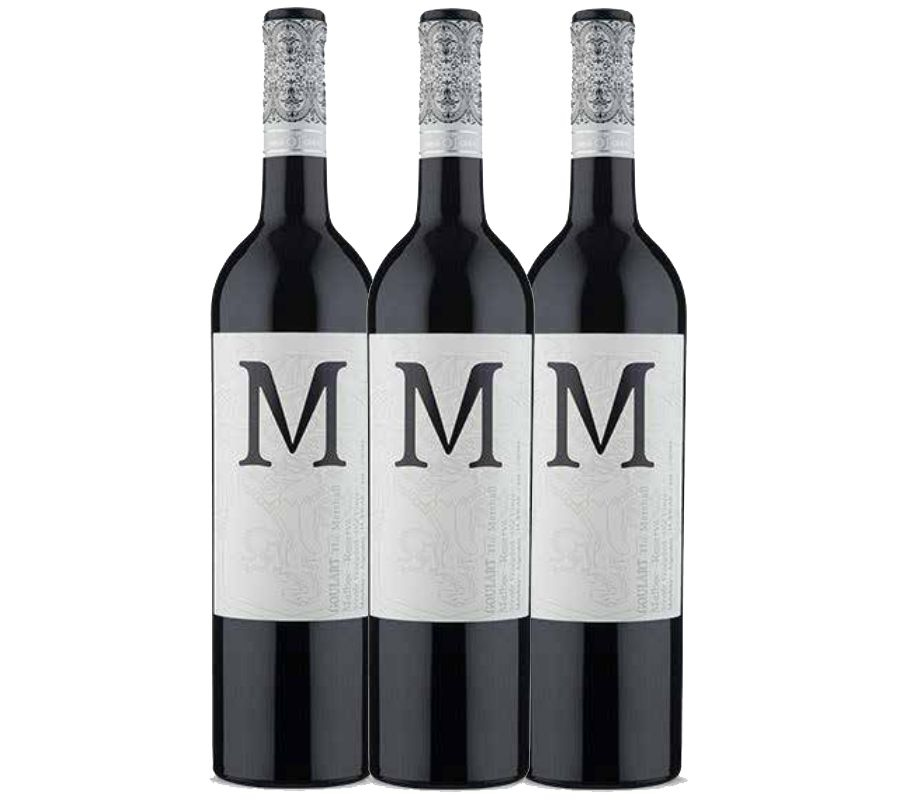 Kit 3 Garrafas - M The Marshall Single Vineyard Malbec 2015 - 3.9 Vivino