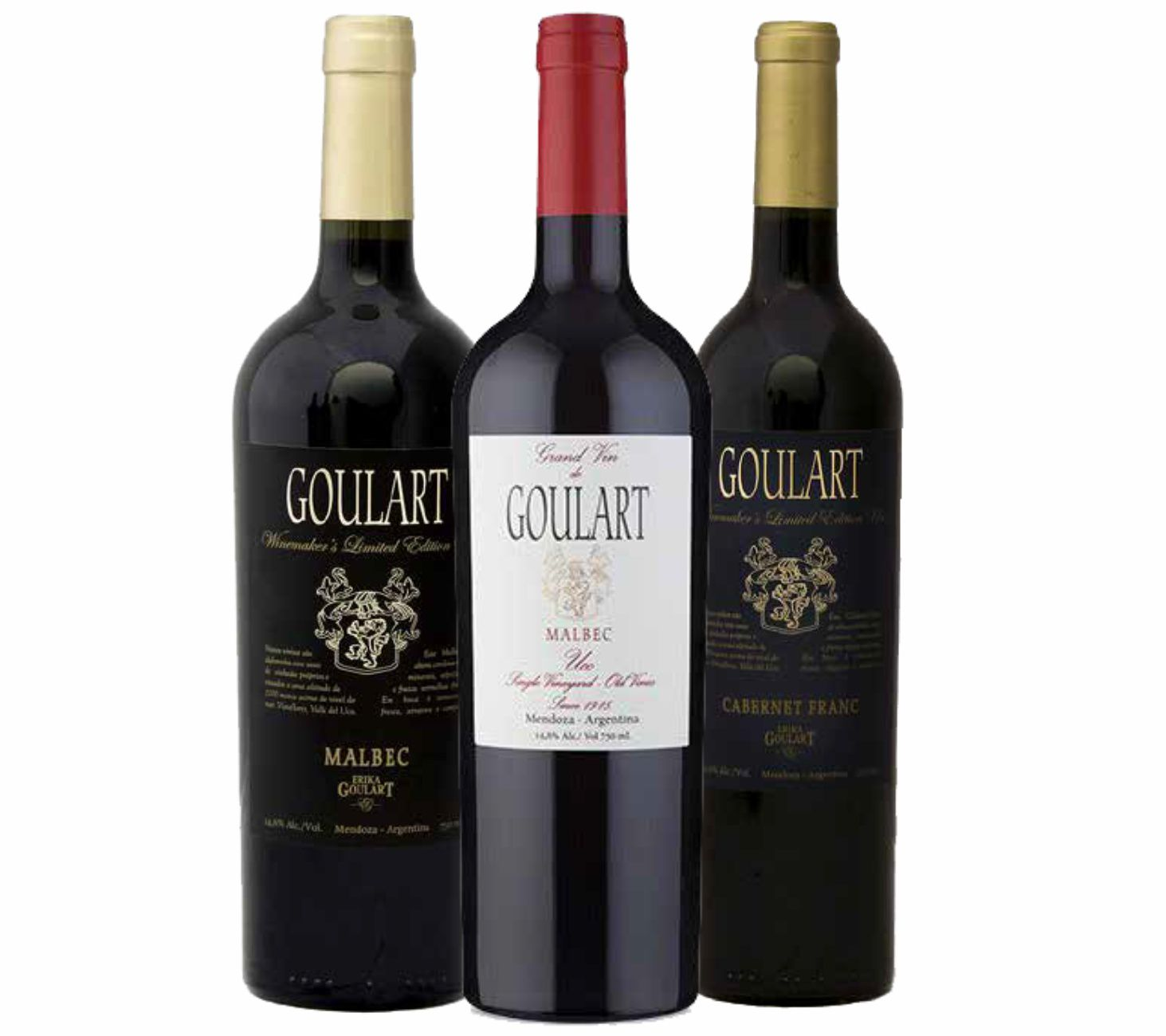 Kit 3 Garrafas - BEST BUY GOULART GRAND VIN UCO V