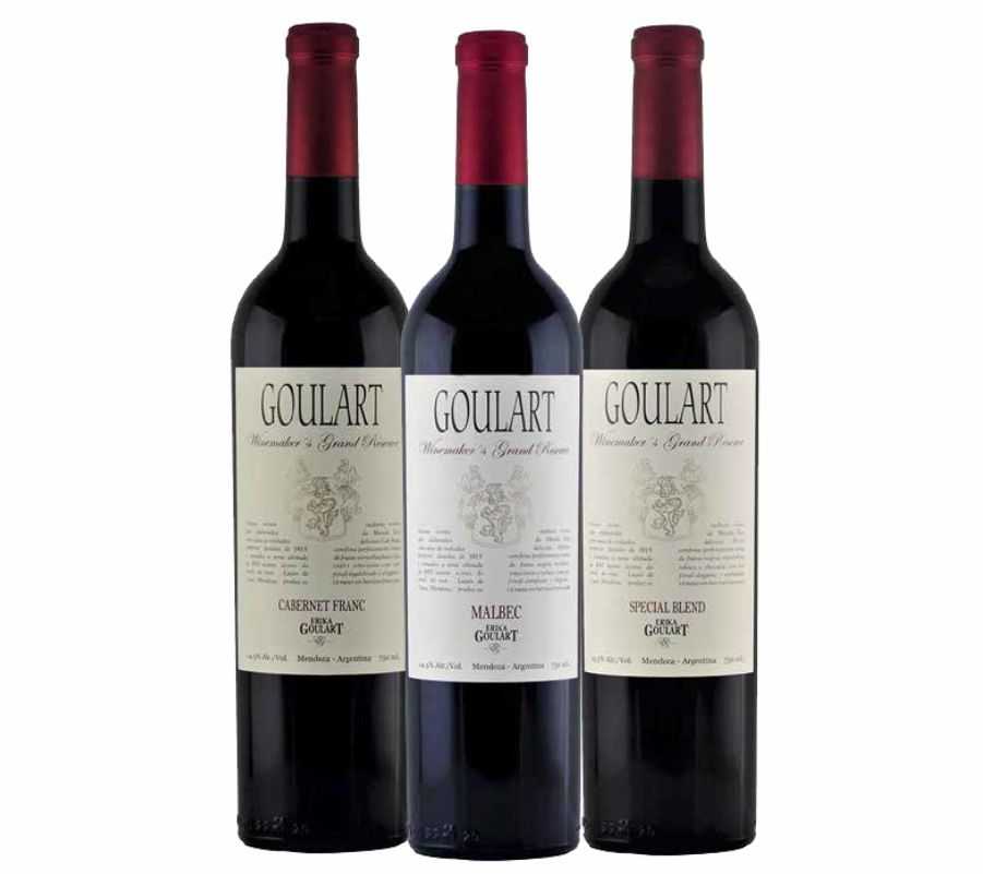 Kit 3 Garrafas - Goulart Winemaker's Grand Reserve - 4.0 Vivino