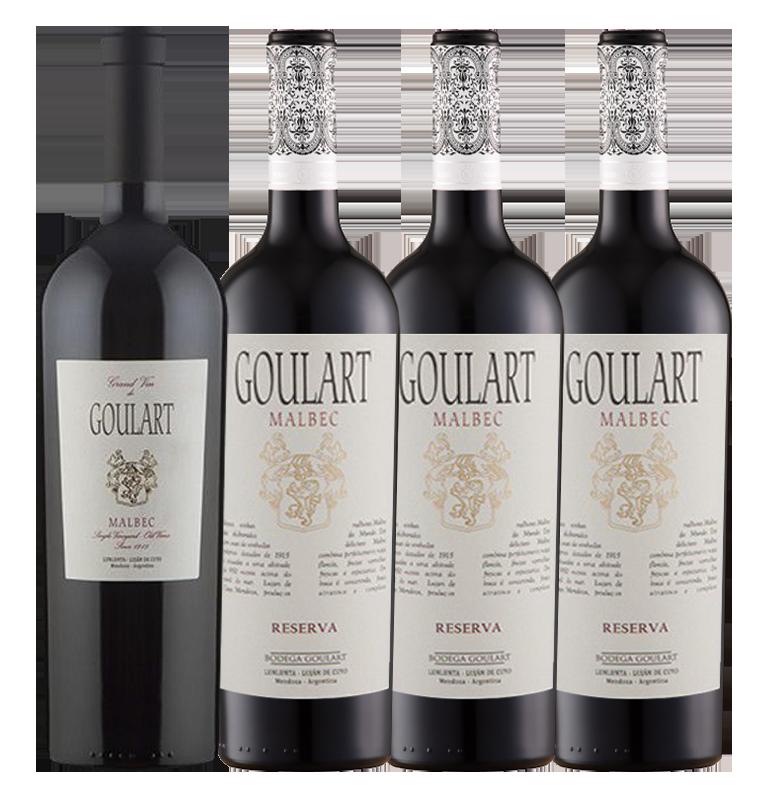 BEST MALBEC 4 * Goulart Super Malbec e Grand Vin (VIVINO 4.1 e 4.2)