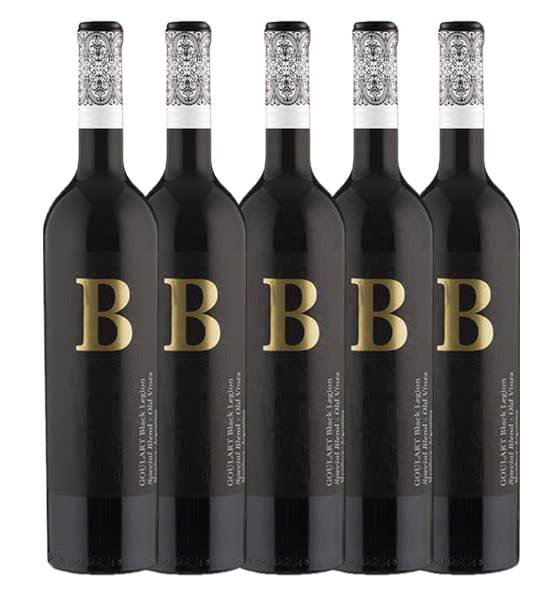 BEST BLEND 5  * B Black Legion Goulart  Malbec/Cab. Franc (VIVINO 4.0)