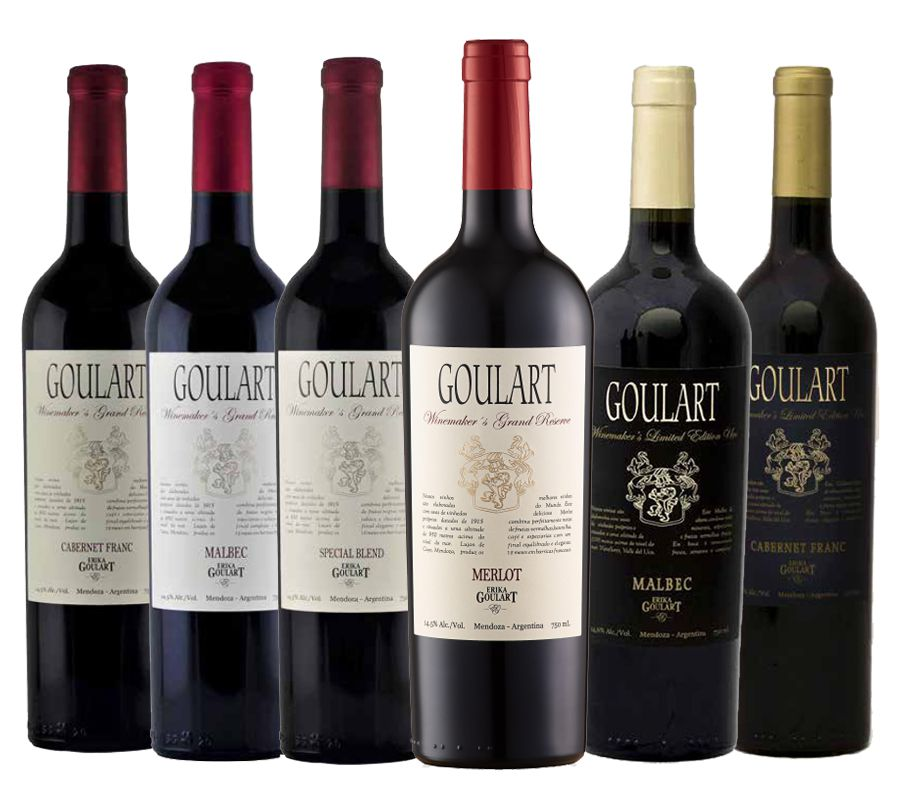 Kit 6 Garrafas - Best Buy Goulart - Grand Reservas 4.0 Vivino