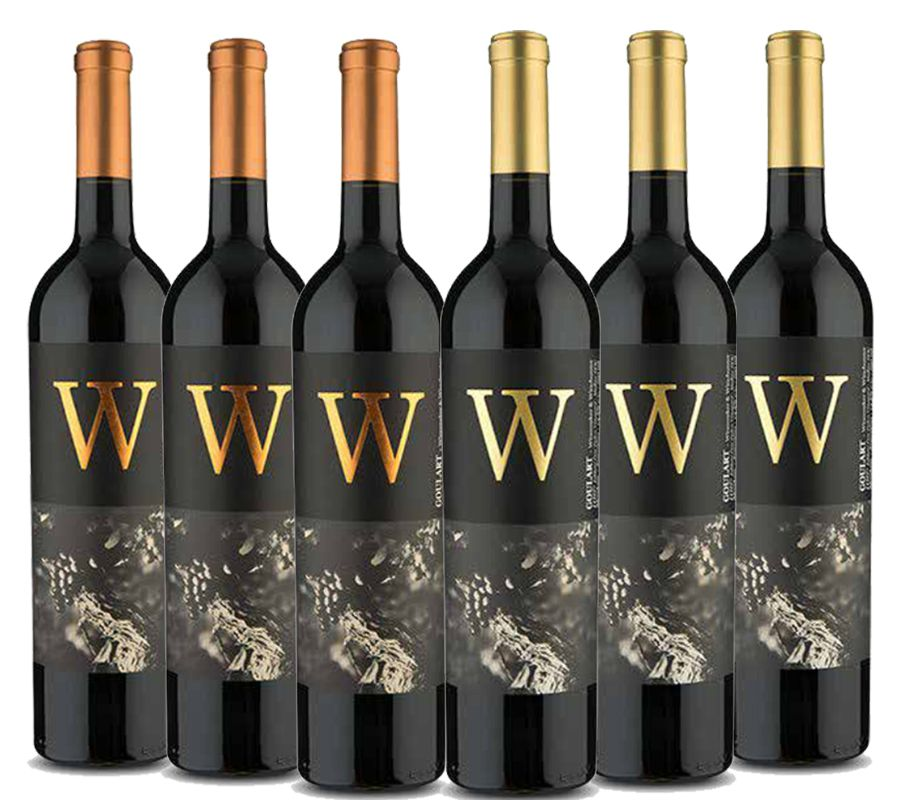 Kit 6 Garrafas - Kit Loucos por  W Winemakers Series