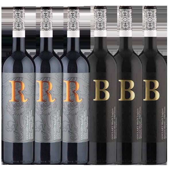 BEST BLEND 6 *  Goulart R RESERVA e B BLACK LEGION ( VIVINO 4.1 e 4.0 )
