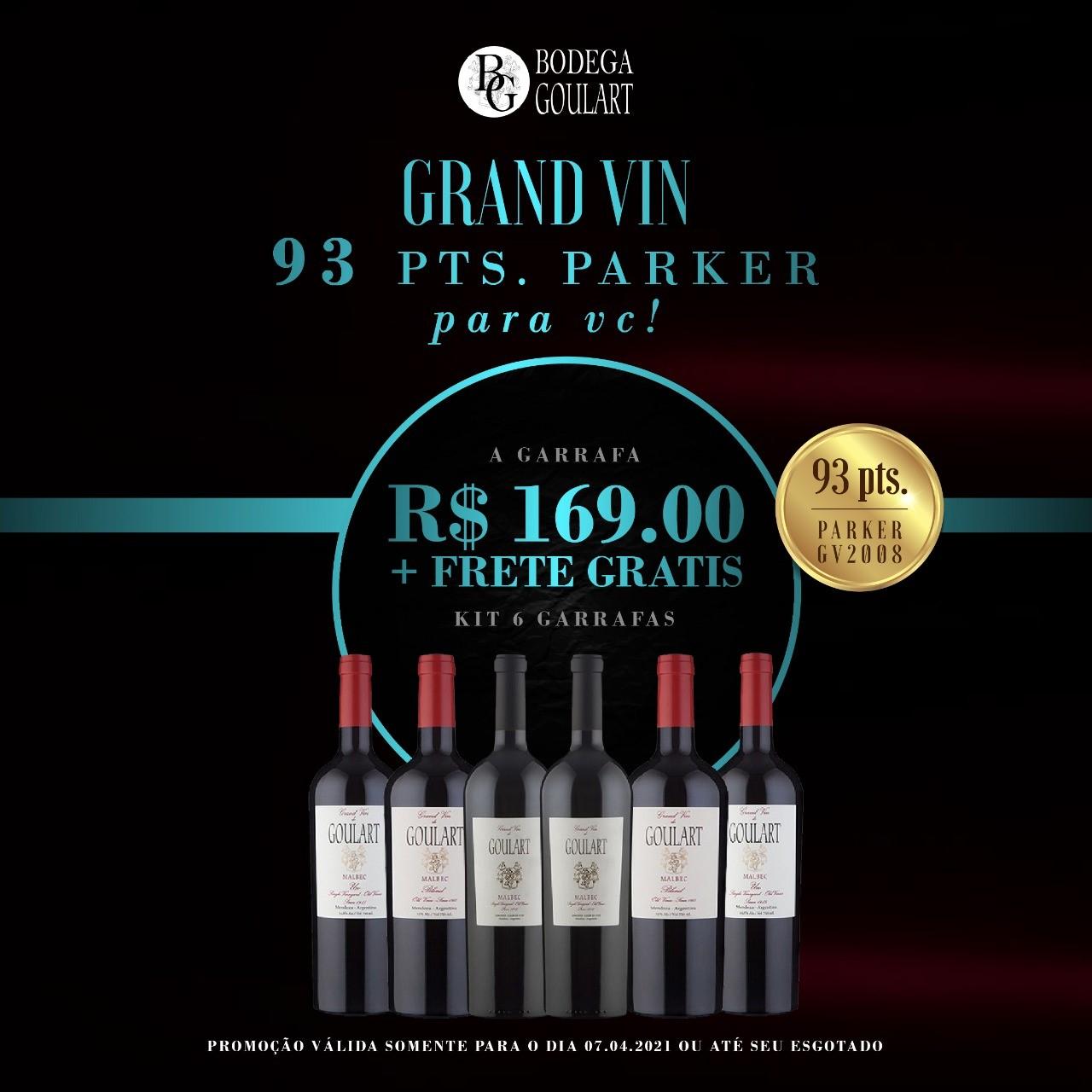 Kit 6 Garrafas - Especial Grand Vin