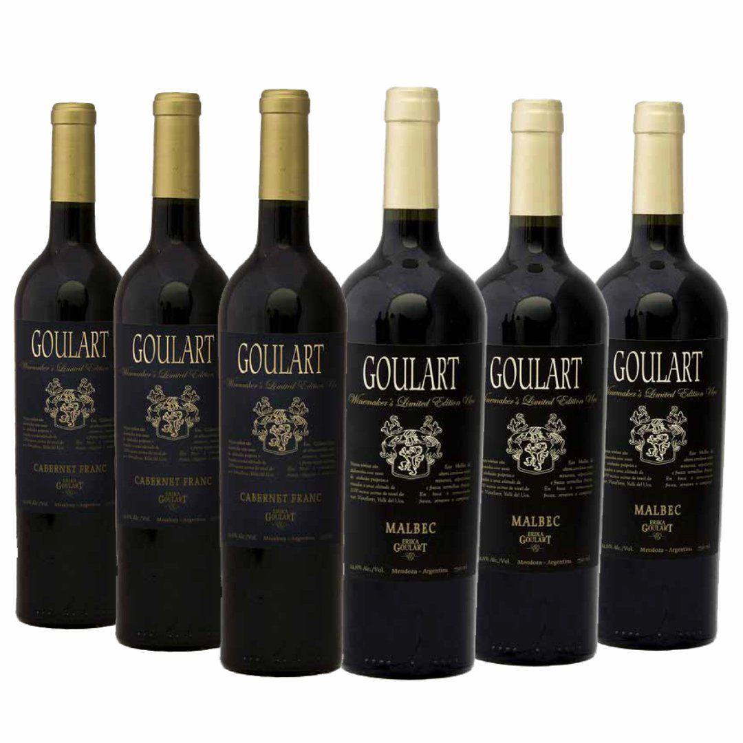 Kit 6 Garrafas - Goulart Winemaker's Limited Edition Uco - 4.1 Vivino