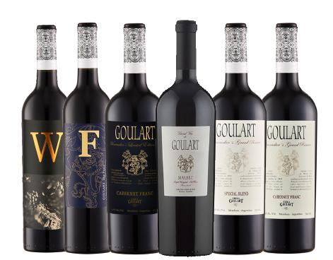 Kit 6 Garrafas - Loucos por Cabernet e Grand Vin