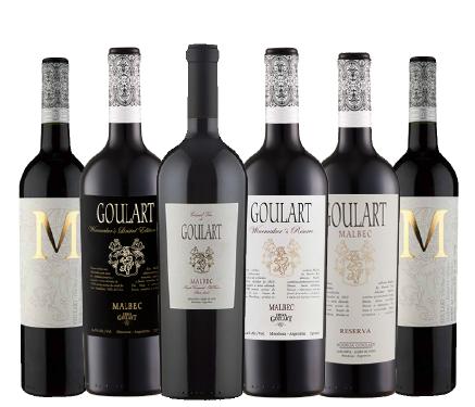 Kit 6 Garrafas - Loucos Por Malbec e Grand Vin