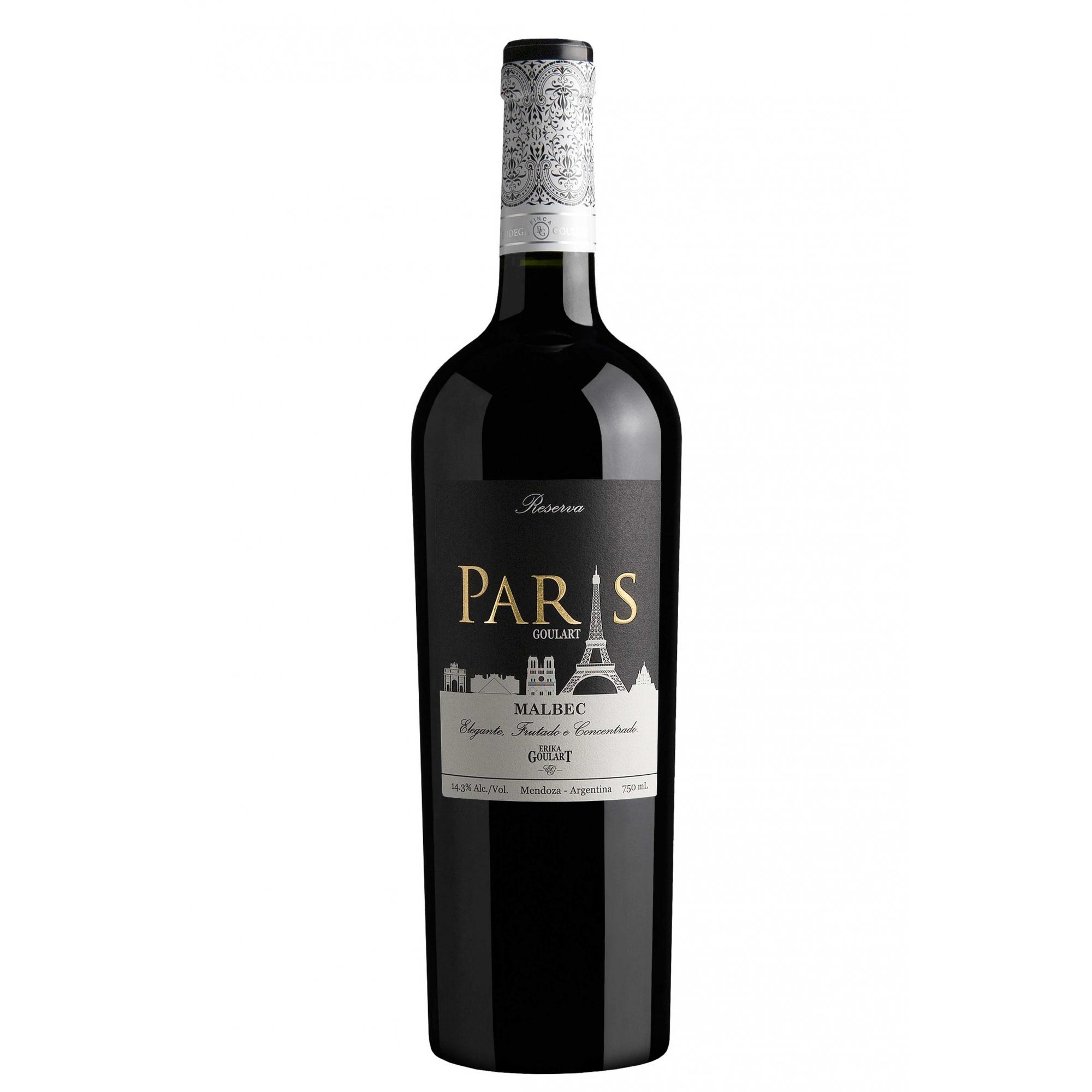 Paris Goulart Reserva Malbec 2019 - 750ml