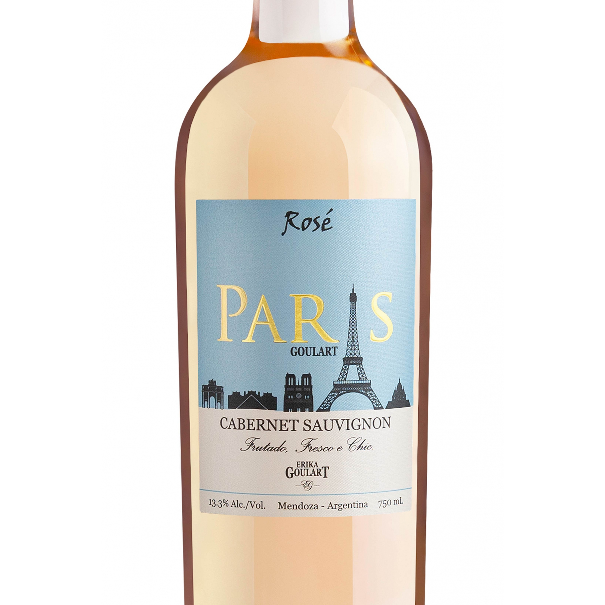 Paris Goulart Rosé Cabernet Sauvignon 2020  - 750ml