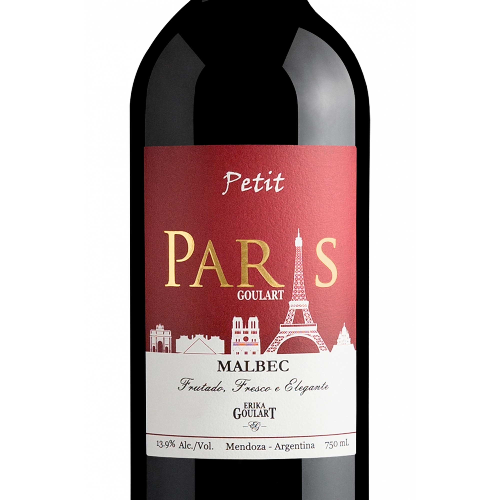 Petit Paris Goulart Malbec 2020 - 750ml