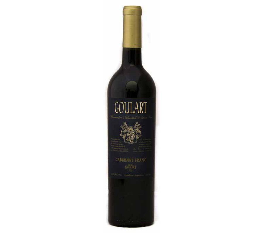 Goulart Winemaker´s Limited Edition Uco Cabernet Franc 2015