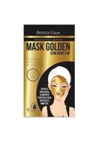 Beauty Face Máscara Facial Ouro Golden