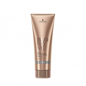 BlondMe Cool Blondes Shampoo Potencializador de Tons Frios e Reforçador de Pontes 250 ml