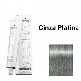 Igora Royal Silver White Cinza Platina