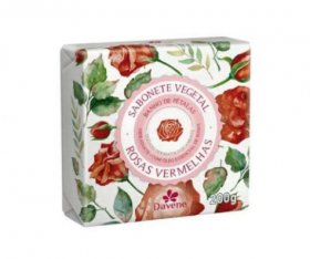 Davene Sabonete Vegetal Rosas Vermelhas