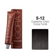 Igora Color10 5-12 Castanho Claro Cinza Fumê